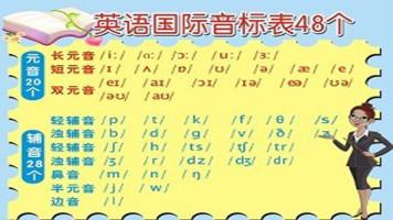 国际英语音标发音学习