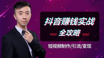 抖音快手短视频自媒体制作引流运营兼职创业赚钱盈利实战vip教程
