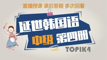 延世韩国语中级第四册精讲(TOPIK4级)【梓宁韩国语】
