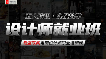 【设计师就业班】电商设计师职业培训课(PS+AI)