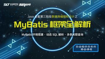 MyBatis框架全解析【百战程序员】