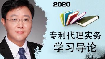 2020年专利代理实务学习导论(韩龙主讲)