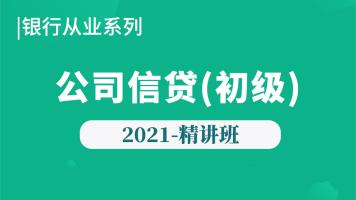2021年【银行初级】公司信贷-精讲班