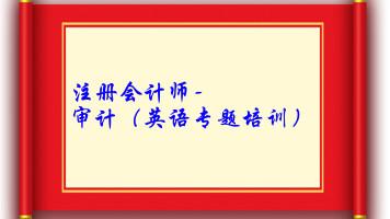 注册会计师-审计(英语专题培训)