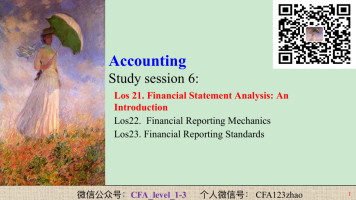 CFA level 1 Accounting