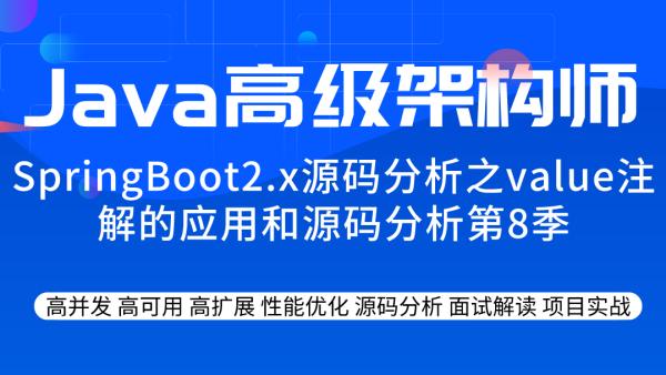 SpringBoot2.x源码分析之value注解的应用和源码分析第8季