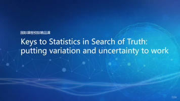 Keys to Statistics in Search of Truth