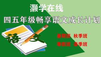 (免)四五年级畅享语文成长计划年卡