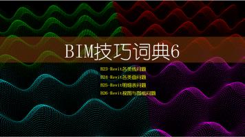BIM技巧词典6