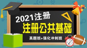 2021注册公共基础真题+强化冲刺班