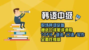 新标准韩国语中级上(韩语TOPIK3)
