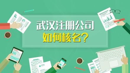 武汉注册公司怎么核名(一个股东)