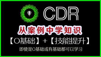 CDR2018新版:从案例里面剖析基本知识名片/DM单/海报/X架/画册