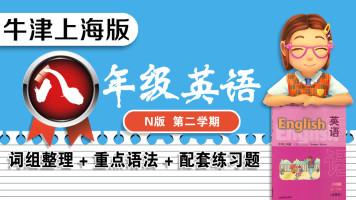 【牛津上海版】八年级下册(第二学期)英语教材知识点精讲与练习