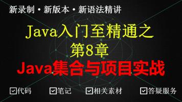 Java集合精讲+项目实战