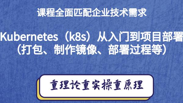 Kubernetes(k8s)入门到项目部署(打包、制作镜像、部署过程)