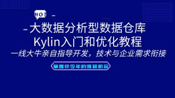 大数据分析型数据仓库Kylin入门和优化教程