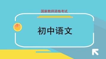2020年教师证面试系统班初中语文