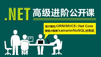 .NET/C#高级进阶/.NetCore/EF6/MVC5/设计模式/NoSql