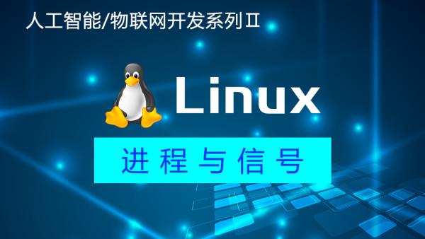 Linux基础入门+Linux进程与信号|人工智能/物联网开发系列Ⅱ