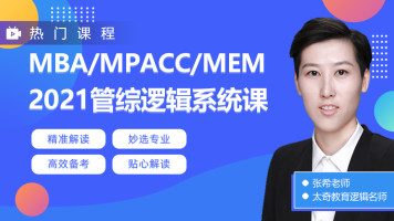 2022MBA/MPAcc/MEM管综逻辑系统课