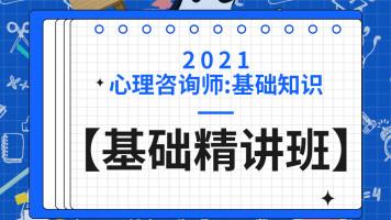 2021心理咨询师:基础知识【基础精讲班】