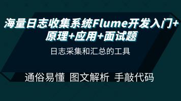 海量日志收集系统Flume开发入门+原理+应用+面试题