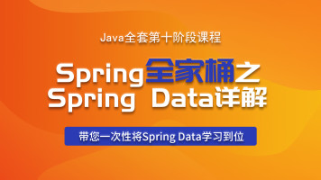 Java全套第十阶段课程   Spring全家桶之Spring Data详解