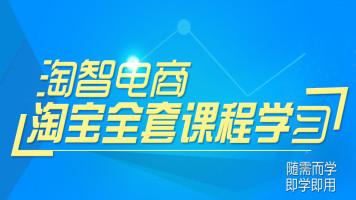 淘智电商淘宝开店教程网店装修运营推广指导全套视频培训课程