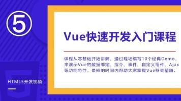VUE.js从入门到实战开发视频教程