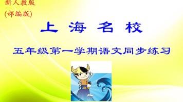 上海名校  五年级第一学期语文同步练习(部编版)——牛娃汇