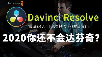 达芬奇入门视频教程 DaVinci Resolve视频调色编辑剪辑 实战教学