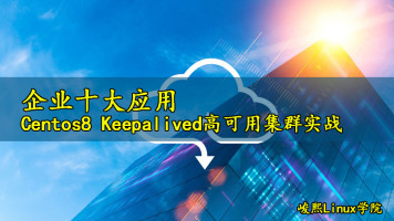 [张彬Linux]企业十大应用-centos8 keepalived高可用集群实战