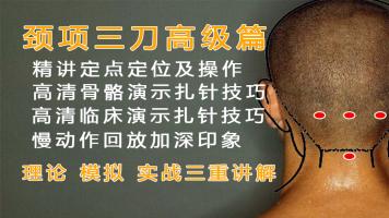 针刀疗法:颈项三刀高级篇