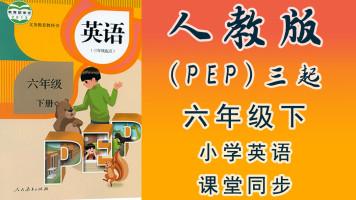 人教版(PEP)三起小学英语六年级(下册)同步教学