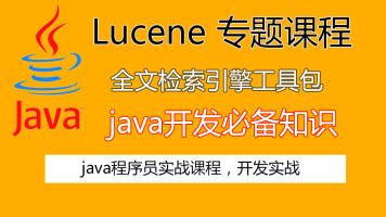 Lucene 专题课程(入门到精通)腾讯课堂最完善Lucene课程