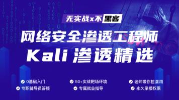 Kali渗透精选(MSF)黑客/网络安全/web安全/攻防/测试/信息安全/