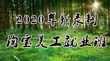 2020年2月新ps淘宝美工就业班录制首页详情手淘活动承接视频教程