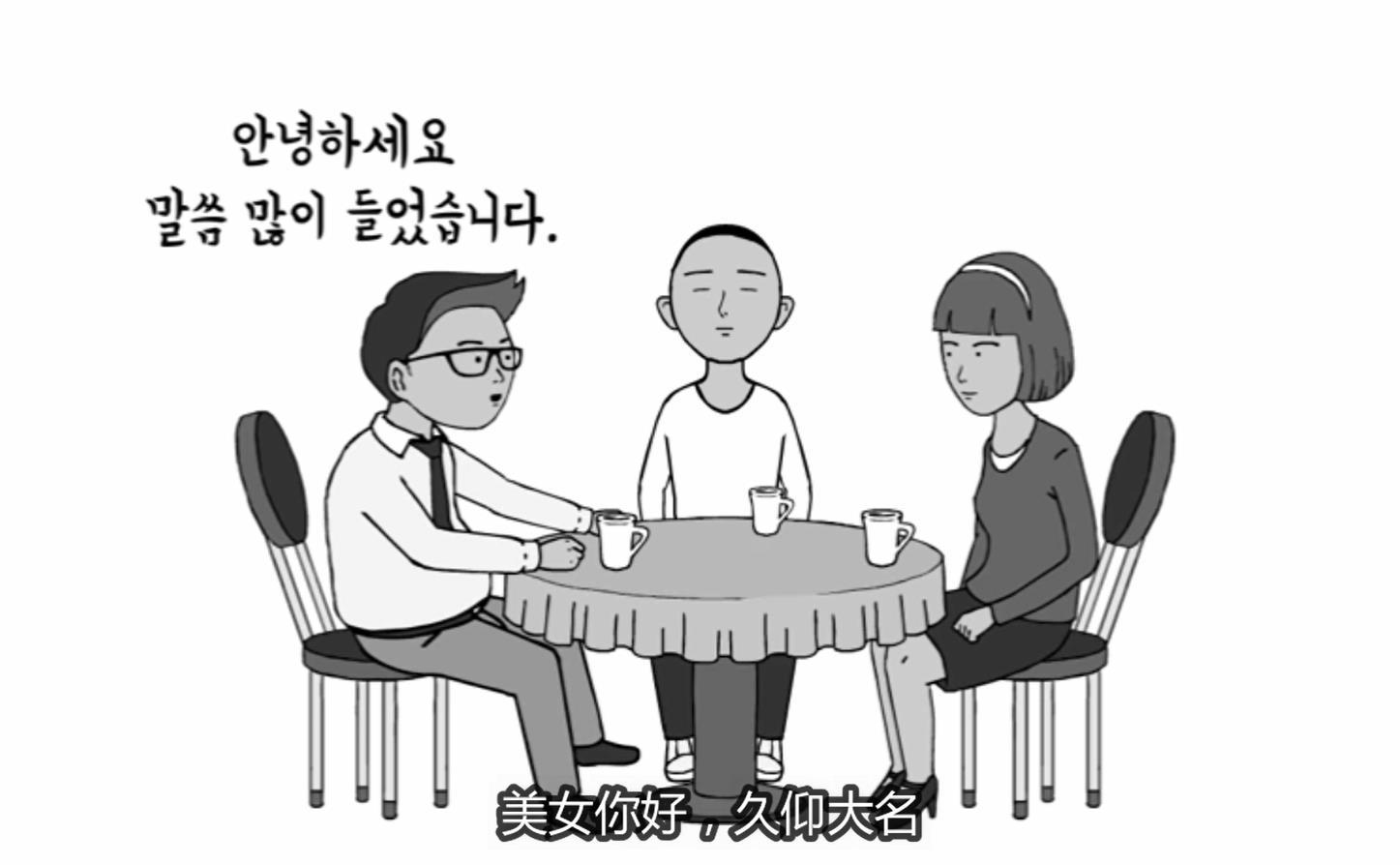 韩语搞笑视频(韩语中字)