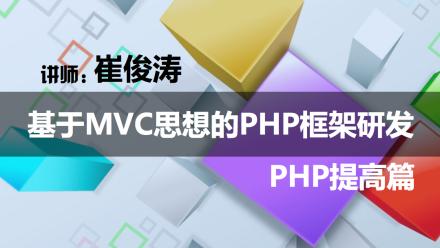 基于MVC思想的PHP语言框架研发及深入演变过程从零详解