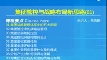 A0116品牌企业集团管控与战略布局新思路(公司财务总监培训)