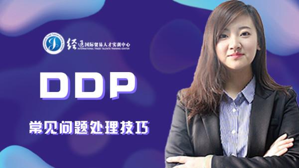 DDP常见问题处理技巧