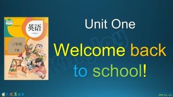 PEP三(下)Unit One
