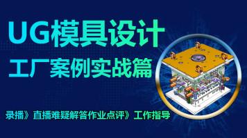 UG模具设计工厂实战案例篇 一个案例一个案例讲解(全3D)