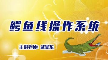 武昊东鳄鱼线系统知识分享尝鲜课