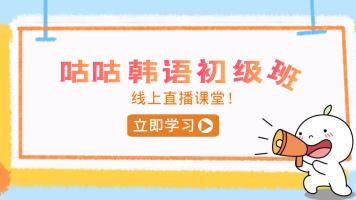 【咕咕韩语】初级阶段课程(0-T2)