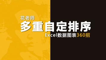 《Excel数据图表360招之多重自定排序》花随花心著