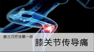 针刀疗法之膝三刀第一讲:膝关节传导痛