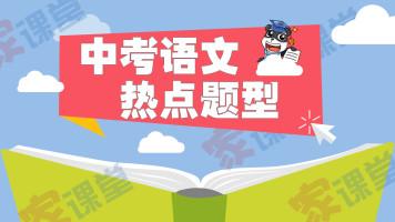 中考语文热点题型 现代文、文言文阅读、写作【家课堂网校】