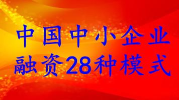 0915(优质)HZ0252+中国中小企业融资28种模式(金融班)